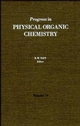 Progress in Physical Organic Chemistry, Volume 19 (0470172193) cover image