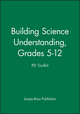 Building Science Understanding, Grades 5 - 12: PD Toolkit (0470420693) cover image