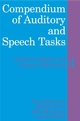 Compendium of Auditory and Speech Tasks: Children's Speech and Literacy Difficulties 4 with CD-ROM (0470516593) cover image