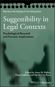 Suggestibility in Legal Contexts: Psychological Research and Forensic Implications (0470663693) cover image