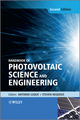 Handbook of Photovoltaic Science and Engineering, 2nd Edition (0470721693) cover image