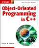 Object-Oriented Programming in C++  (0470843993) cover image