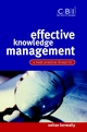 Effective Knowledge Management: A Best Practice Blueprint (0470844493) cover image