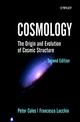 Cosmology: The Origin and Evolution of Cosmic Structure, 2nd Edition (0471489093) cover image