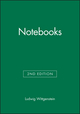 Notebooks, 1914 - 1916, 2nd Edition (0631124993) cover image