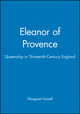 Eleanor of Provence: Queenship in Thirteenth-Century England (0631227393) cover image