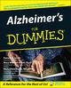 Alzheimer's For Dummies (0764538993) cover image