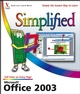 Office 2003 Simplified (0764599593) cover image