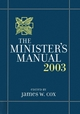 The Minister's Manual, 2003 Edition (0787960993) cover image