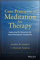 Core Principles of Meditation for Therapy: Improving the Outcome of Psychotherapeutic Treatment (1118689593) cover image