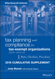 Tax Planning and Compliance for Tax-Exempt Organizations 2016 Cumulative Supplement, 5th Edition (1119206693) cover image