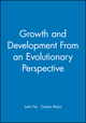 Growth and Development From an Evolutionary Perspective (1557860793) cover image