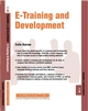 E-Training and Development: Training and Development 11.3 (1841124893) cover image