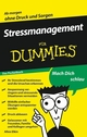 Stressmanagement für Dummies Das Pocketbuch (3527638393) cover image