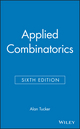 Applied Combinatorics, 6th Edition (EHEP001993) cover image