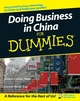 Doing Business in China For Dummies (0470049294) cover image