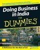 Doing Business in India For Dummies (0470127694) cover image