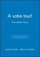 A votre tour!: Intermediate French, SAM Audio CDs (12 CDs, 1 per Unit), 2nd Edition (0470424494) cover image