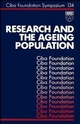 Research and the Ageing Population, No. 134 (0470513594) cover image