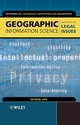 Geographic Information Science: Mastering the Legal Issues (0470850094) cover image