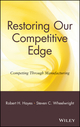 Restoring Our Competitive Edge: Competing Through Manufacturing (0471051594) cover image