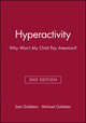 Hyperactivity: Why Won't My Child Pay Attention? (0471303194) cover image