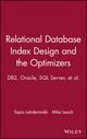 Relational Database Index Design and the Optimizers (0471719994) cover image