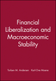 Financial Liberalization and Macroeconomic Stability (0631203494) cover image