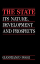 The State: Its Nature, Development and Prospects (0745668194) cover image