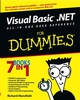 Visual Basic .NET All-In-One Desk Reference For Dummies (0764525794) cover image