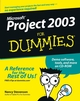 Microsoft Project 2003 For Dummies (0764542494) cover image