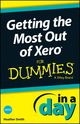 Getting the Most Out of Xero In A Day For Dummies (1118572394) cover image