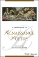 A Companion to Renaissance Poetry (1118585194) cover image