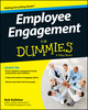 Employee Engagement For Dummies (1118725794) cover image