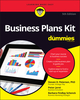 Business Plans Kit For Dummies, 5th Edition (1119245494) cover image