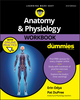 Anatomy and Physiology Workbook For Dummies, with Online Practice, 3rd Edition (1119473594) cover image