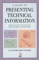 A Guide to Presenting Technical Information: Effective Graphic Communication (1860582494) cover image