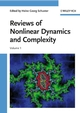 Reviews of Nonlinear Dynamics and Complexity, Volume 1 (3527407294) cover image