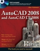 AutoCAD 2008 and AutoCAD LT 2008 Bible (0470120495) cover image