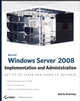 Microsoft Windows Server 2008: Implementation and Administration (0470174595) cover image