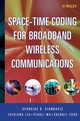 Space-Time Coding for Broadband Wireless Communications (0471214795) cover image