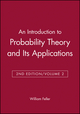 An Introduction to Probability Theory and Its Applications, Volume 2, 2nd Edition (0471257095) cover image