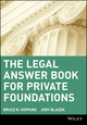 The Legal Answer Book for Private Foundations (0471405795) cover image