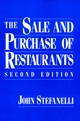 The Sale and Purchase of Restaurants, 2nd Edition (0471512095) cover image