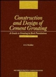 Construction and Design of Cement Grouting: A Guide to Grouting in Rock Foundations (0471516295) cover image