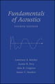 Fundamentals of Acoustics, 4th Edition (0471847895) cover image