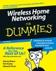 Wireless Home Networking For Dummies, 2nd Edition (0471929395) cover image