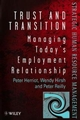Trust and Transition: Managing Today's Employment Relationship (0471979295) cover image