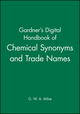 Gardner's Digital Handbook of Chemical Synonyms and Trade Names (0566082195) cover image