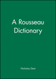 A Rousseau Dictionary (0631175695) cover image